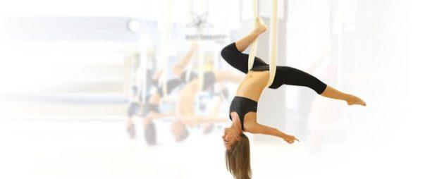 Антигравити йога - новое направление