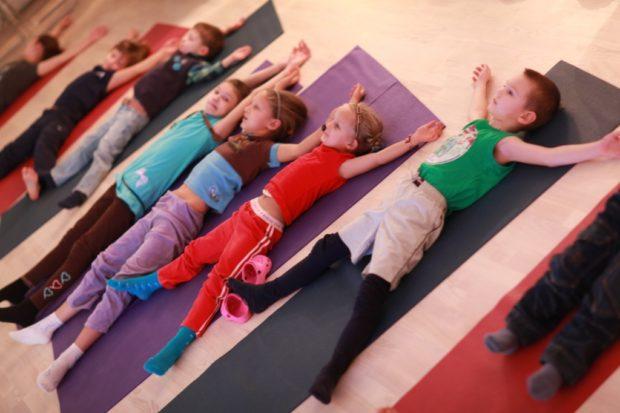 Упражнение на релакс для детей