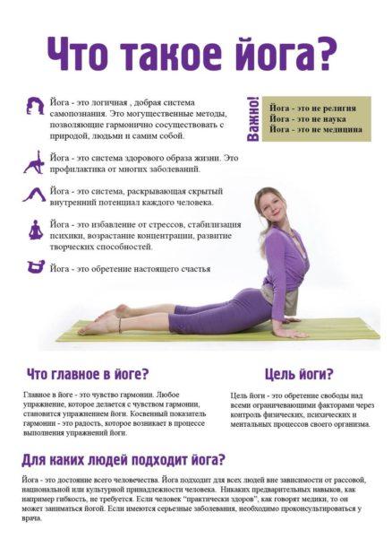 Что такое йога - принципы и цели