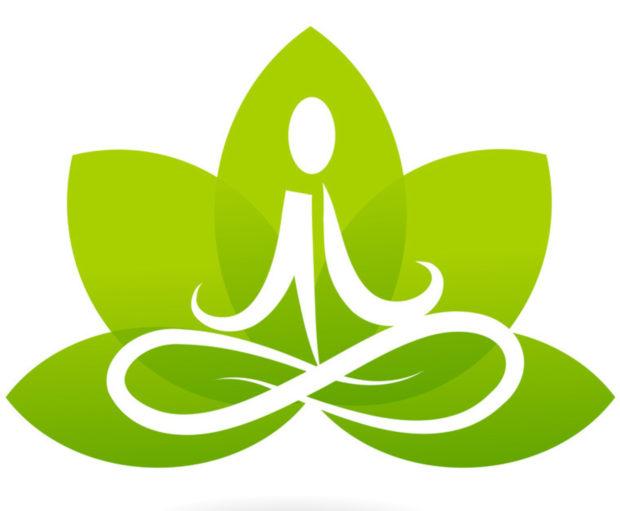 Логотип хатха йога