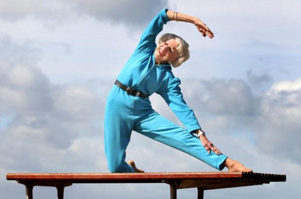 В хатха йоге нет ограничения по возрасту