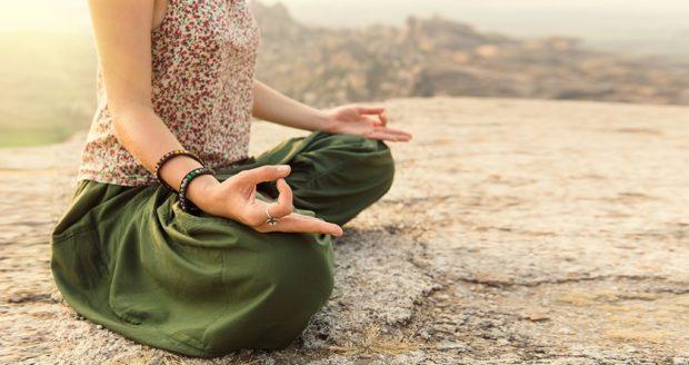 Медитация в хатха йоге - достижение благодати