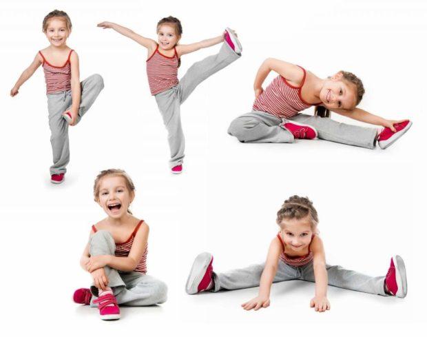 Асаны йоги для детей