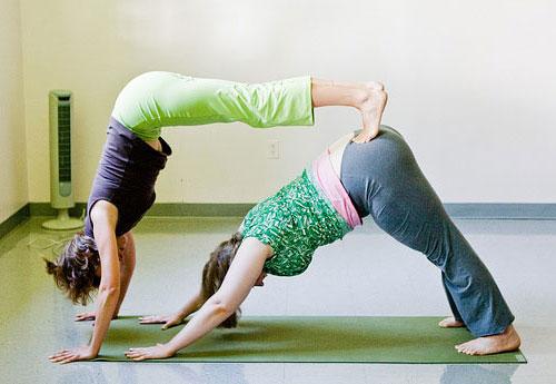 Йога челлендж для детей и взрослых