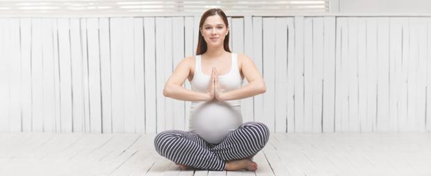 Йога беременным помогает легче перенести этот сложный период