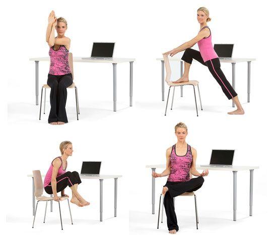 Йога со стулом из Айенгара йоги