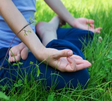 Мудра Чин (для медитации)