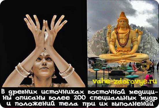 Известно более 200 мудр