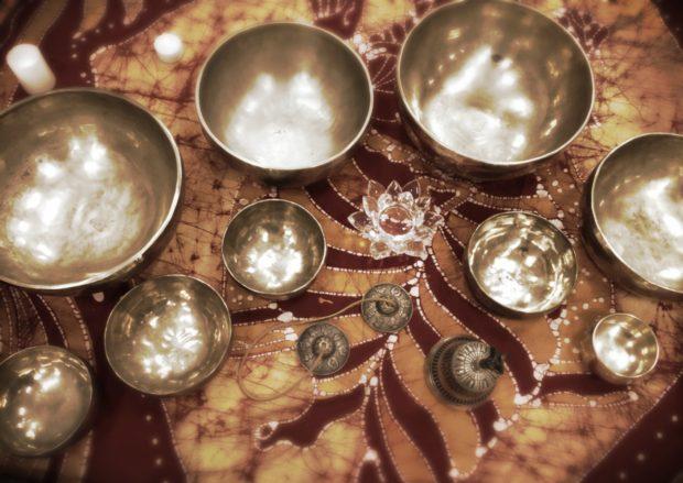 Поющие чаши для йона нидра