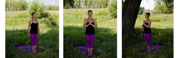 3 варианта Тадасаны в йоге