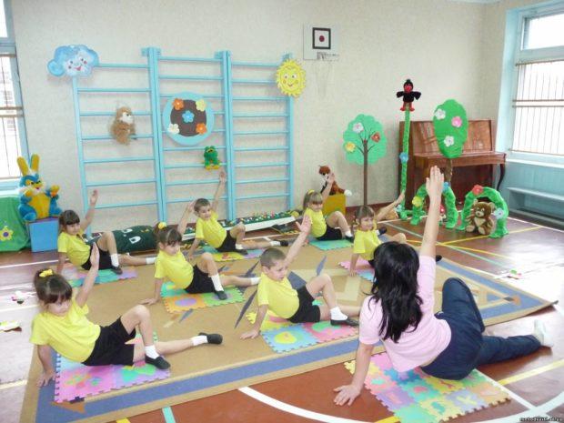 Детская группа хатха йоги - с 3-х лет