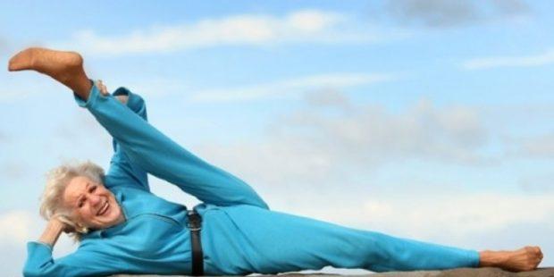 Йога сохраняется гибкость тела