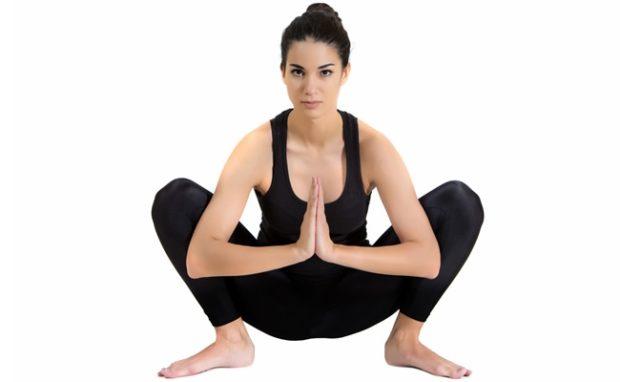 Позиция гирлянды – Маласана в йоге