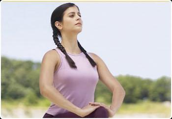 Дыхательные упражнения для живота