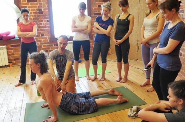 Обучение инструкторов - практическое занятие