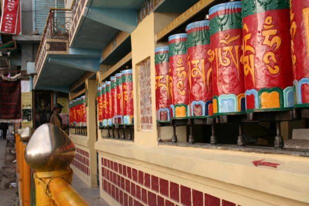Тибетские барабаны с мантрами