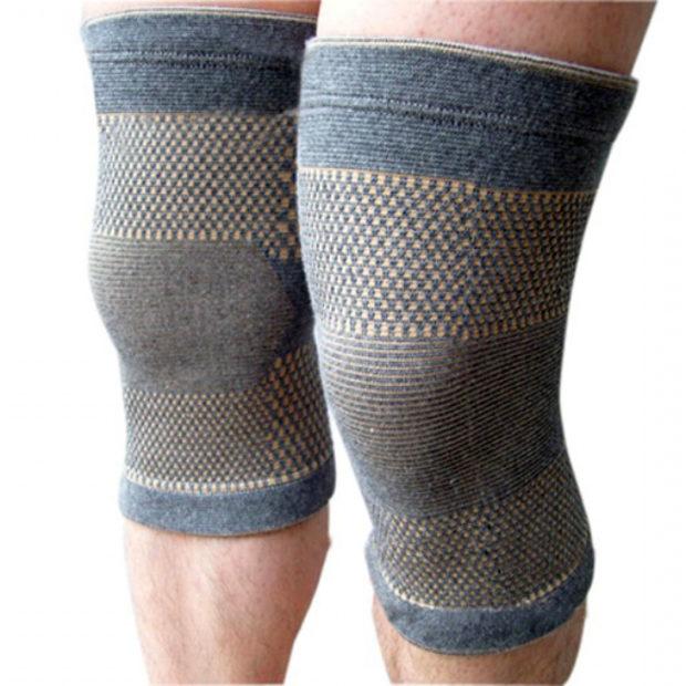 Фиксация колен во время занятий