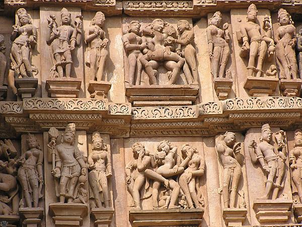 Архитектура храма Ваджраяна в Каджурао