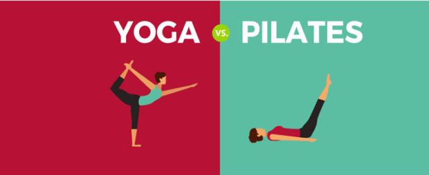 Йога против пилатеса или йога + пилатес