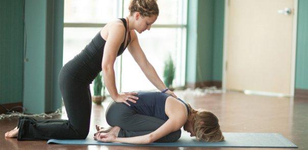 Йога с тренером для осанки