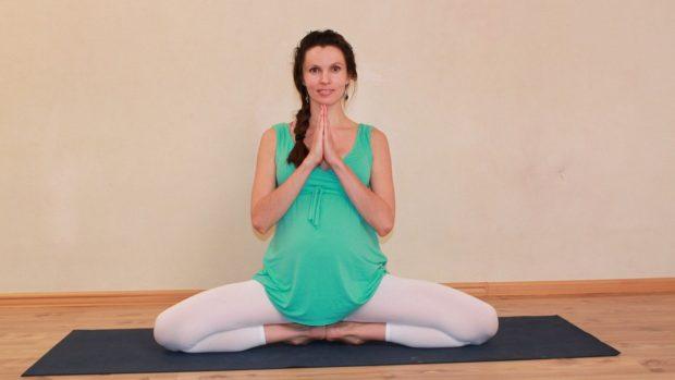 Мула Бандха для беременных выполняется осторожно