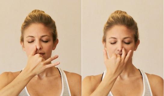 Нади Шохана - дыхательная техника