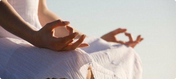 Позиция для дыхания - ровная спина