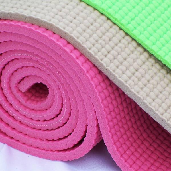 Разная толщина ковриков для йоги