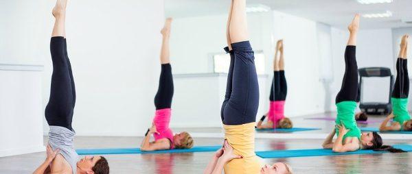 Поза березка в йоге