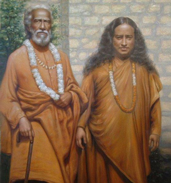 Шри Юктешвар и Йогананда