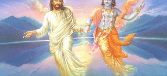 Две религии - христианство и йога