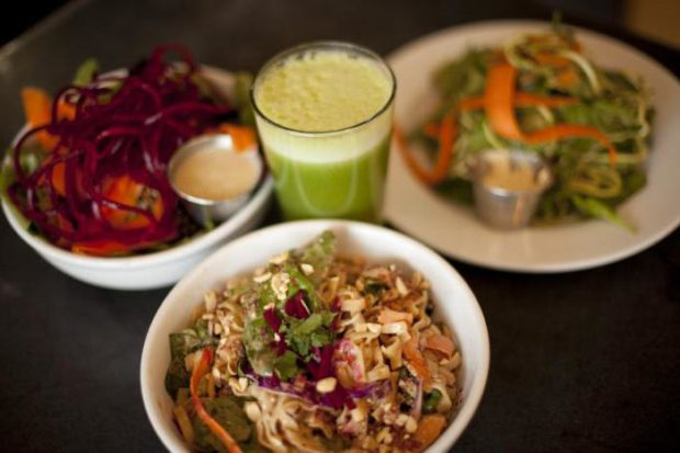 Вегетарианский обед йога