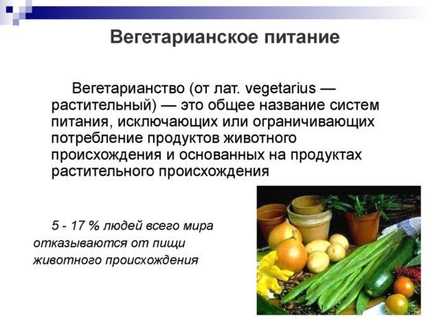 Вегетарианство - что это