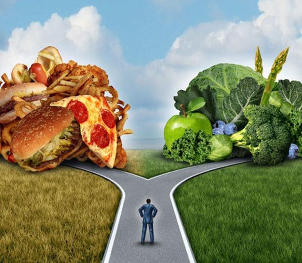 Выбор питания зависит от человека