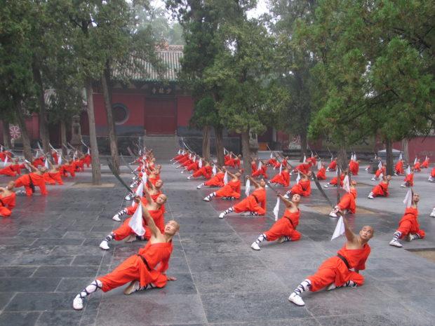 Боевая йога, монастырь Шаолинь