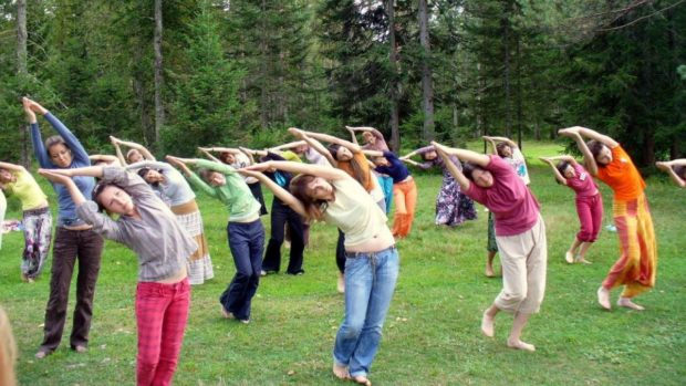 Каошики - танец на природе