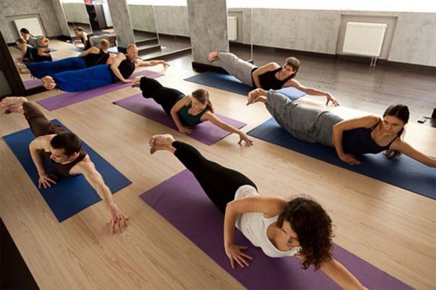 Выполнения асан в лайя йоге