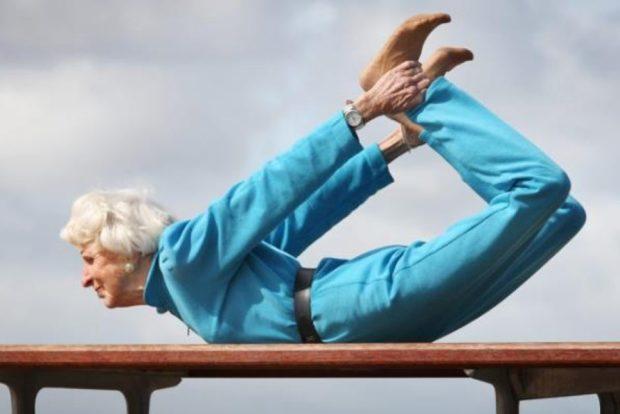 Гибкость у пожилых людей
