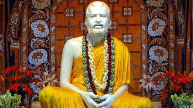 Рамакришна - скульптура