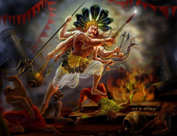 Вирабхадра - герой