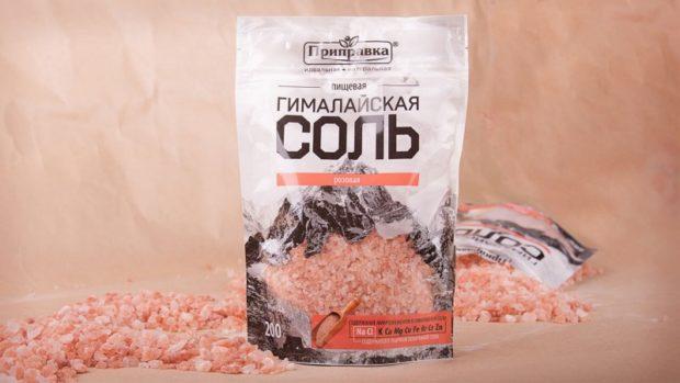 Гималайская соль для раствора