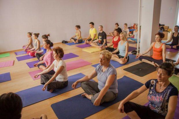 Занятие по йоге для больных с ибс