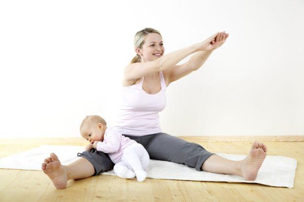 Бейби - йога для домашних занятий