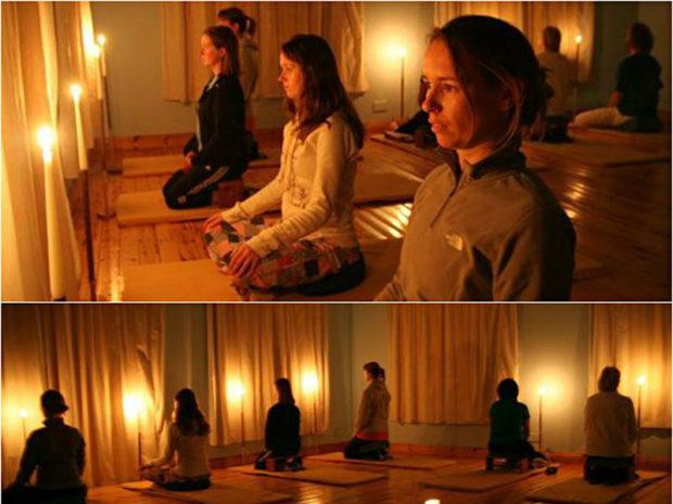 Медитация Тратак