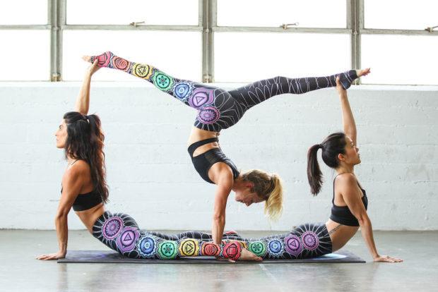 Соревнования по йоге челлендж