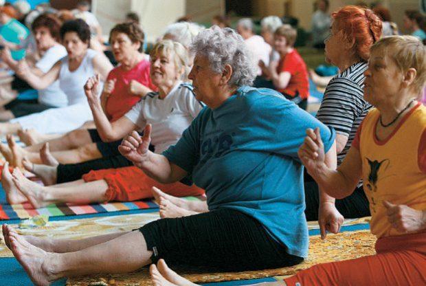 Йога Артура Паталаха для пожилых