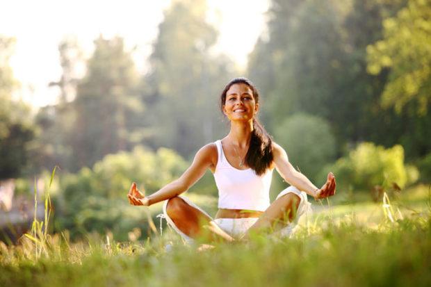 Медитация дает полезное расслабление