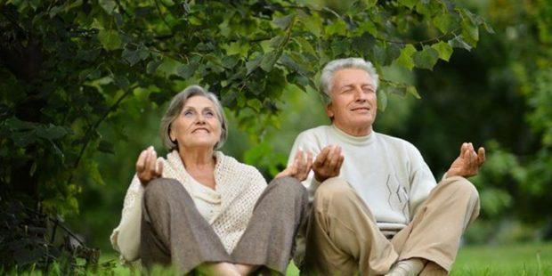 Медитация полезна пожилым людям