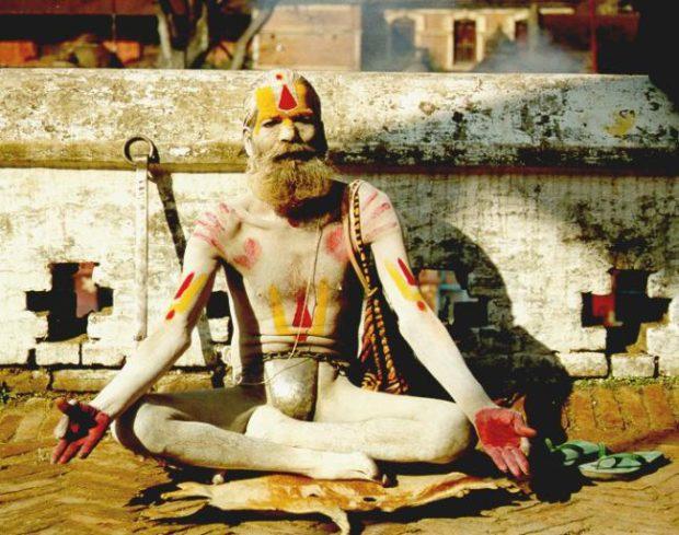 Йогин в Индии