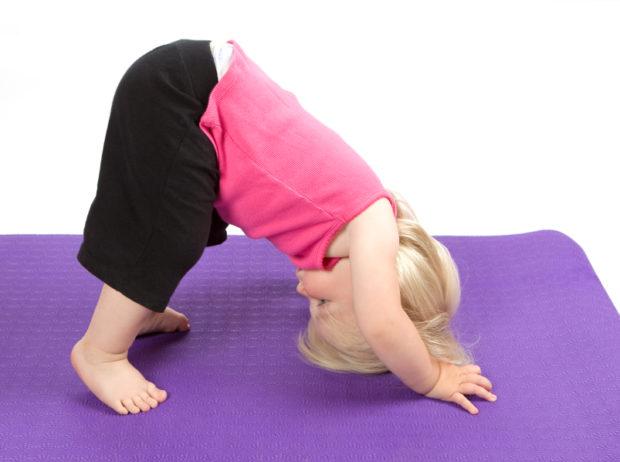Детям йога с 3-х лет